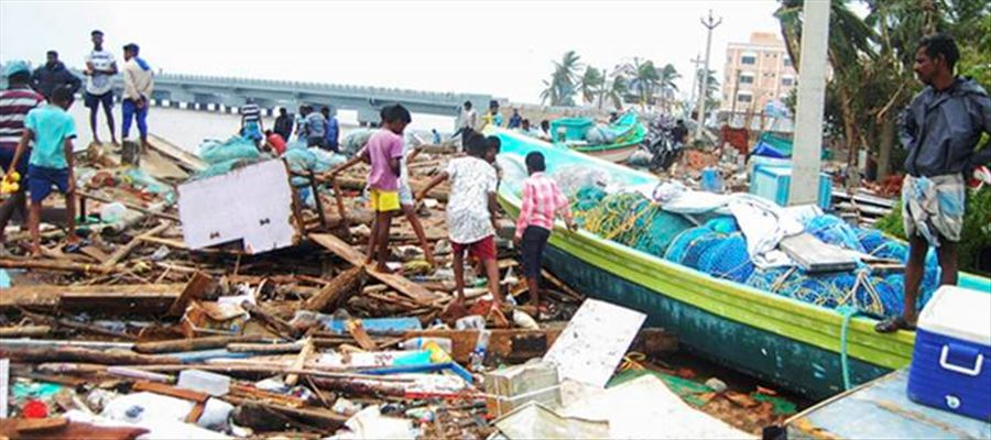 Relief Package for Fishermen to be Increased due to Cyclone Gaja