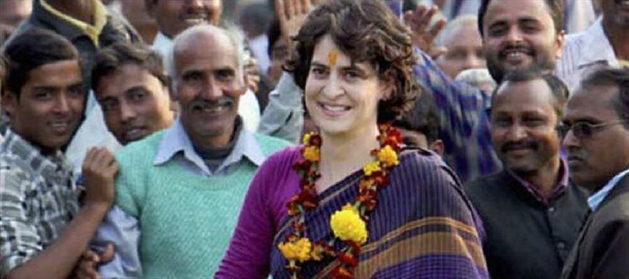 Priyanka Gandhi pitched into politics from politically vital UP