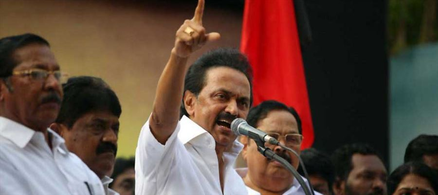 Will DMK Working president not be intimidated by threats of imprisonment issued by Raj Bhavan?