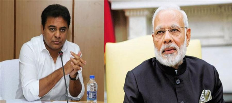 KTR congratulated Modi for being elected as PM second time