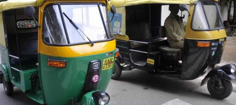 My Vehicle is safe - Poster draws attraction of auto rickshaw passengers
