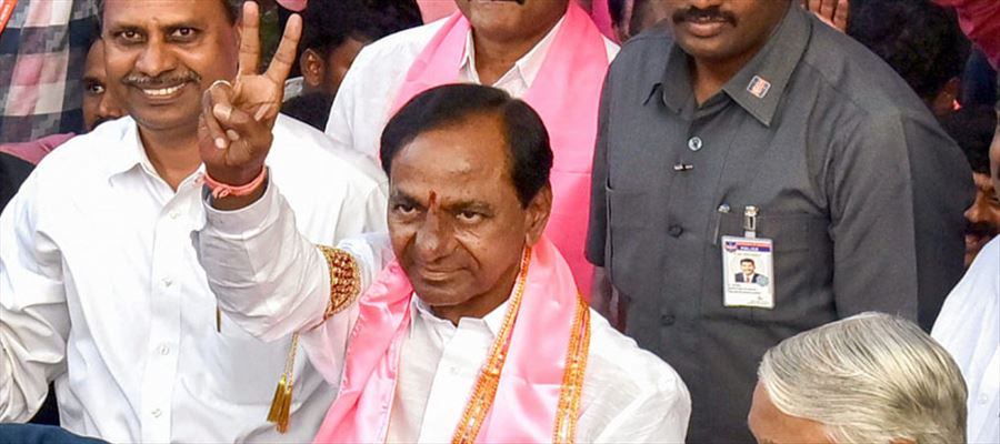TRS Party makes clean sweep in Panchayat Election