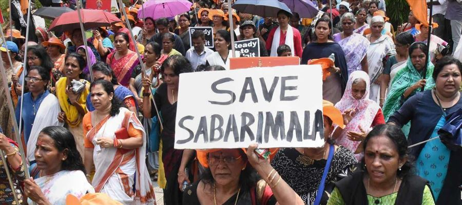 Tension prevails in Sabarimala!