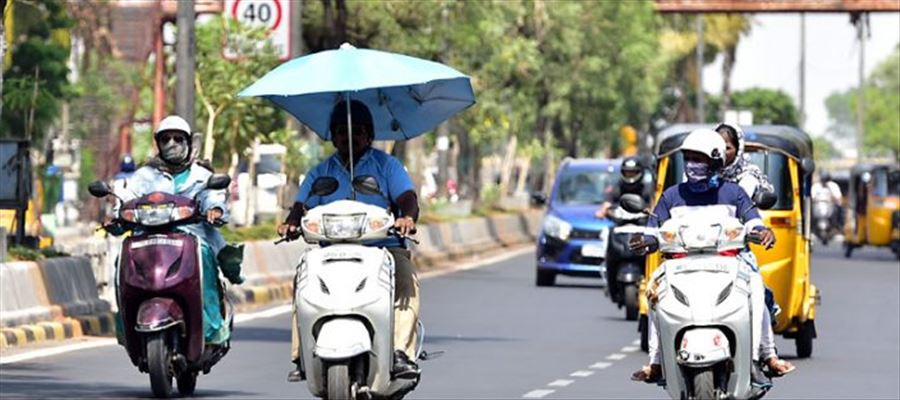 Nizamabad witnessed highest temperature in Telangana at 44.4 degree Celsius