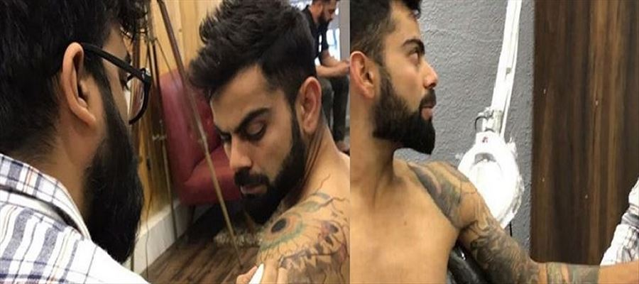 Kohli's New Tattoo sentiment revealed!!