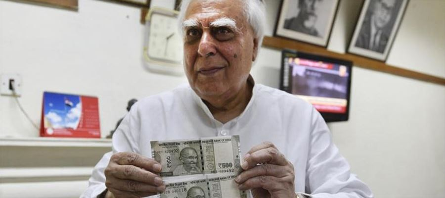 Two types of Rs 500 notes? Congress discovered it!!