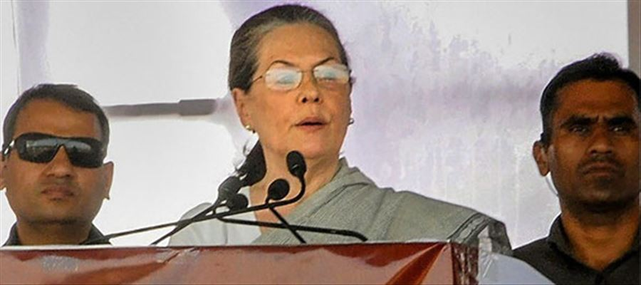 Sonia Gandhi to address a Public Meeting in Telangana on November 23