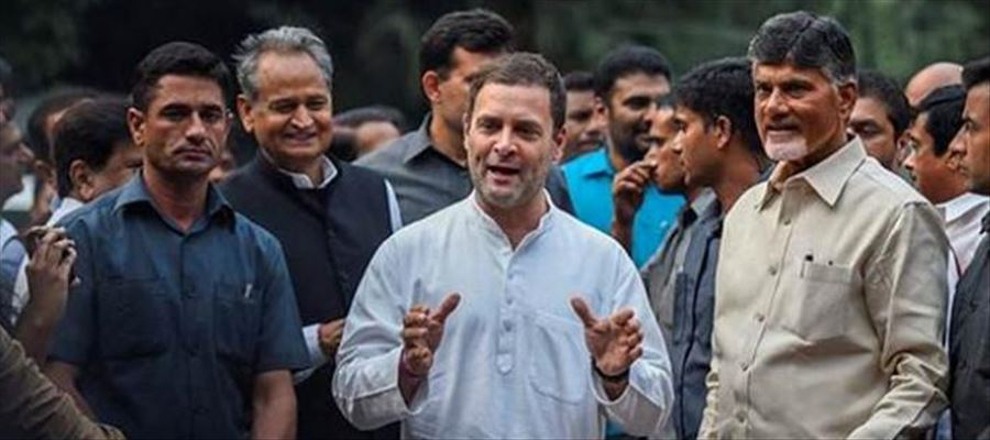 CBN takes part in Electioneering with Rahul Gandhi