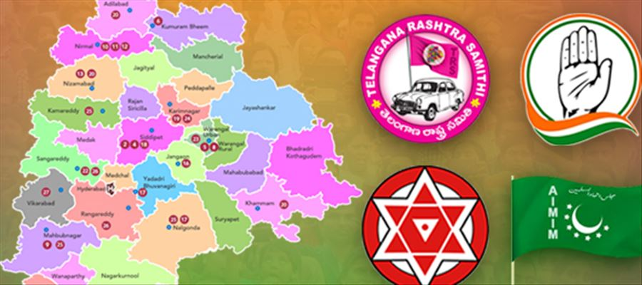Which Party will WIN Telangana Elections?