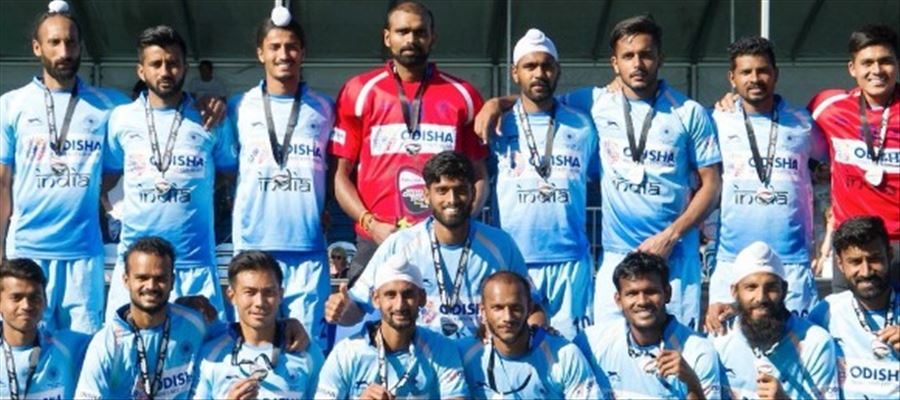 Indian hockey team secures 5th rank!