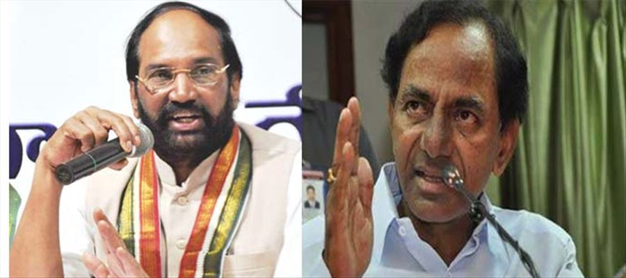Uttam Kumar Reddy slammed KCR for out rightly 'copying' Congress manifesto
