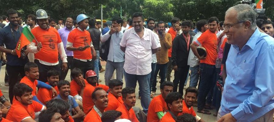 BJP refused permission for bike rally, Mangaluru is destination