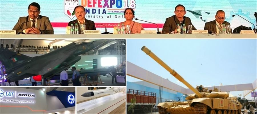 NDA govt projects DefExpo for transformation of India into hub of military manufacturing