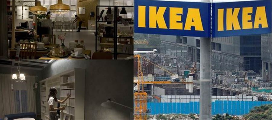 Has IKEA occupied land allotted to IT Companies?