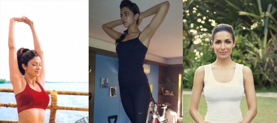 Iconic Bollywood Celebrities who does Yoga to maintain svelte