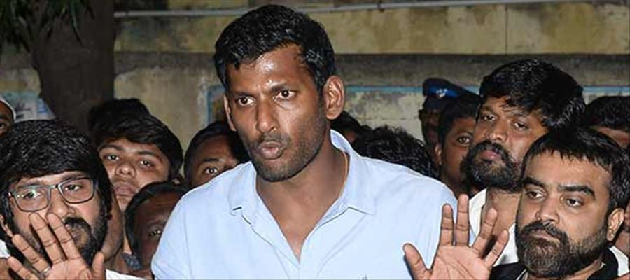 3 Member Panel to probe MeToo allegations in Kollywood: Vishal