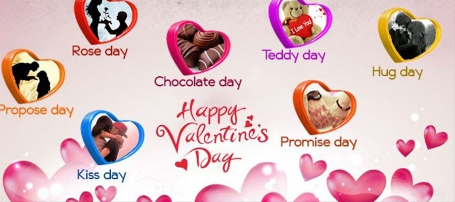 Valentine's Day started with Rose Day & now reached Chocolate Day