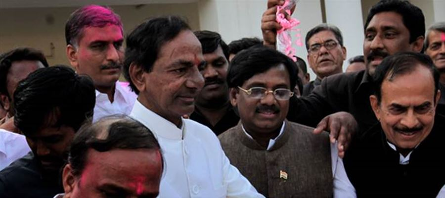 KCR said his party is emerging stronger with every passing day