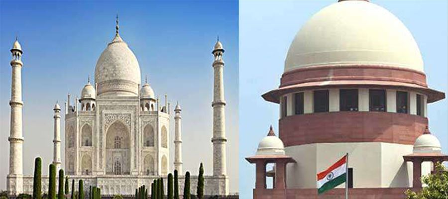 Supreme Court recently told Indian government to restore Taj or demolish it