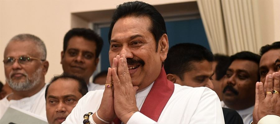 Mahinda Rajapaksa assumed charge as Sri Lanka's new PM