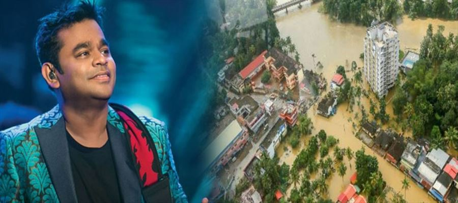 Music Maestro AR Rahman to give 1 Crore for Kerala Flood Relief