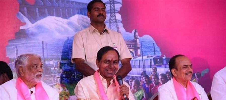 And the WINNER in Telangana is TRS Party!!!