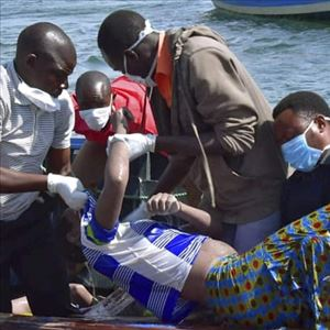 136 people died after a ferry capsized on Lake Victoria, Tanzania