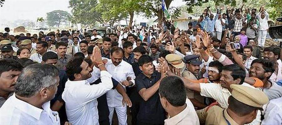 More security for YS Jagan in his Padayatra