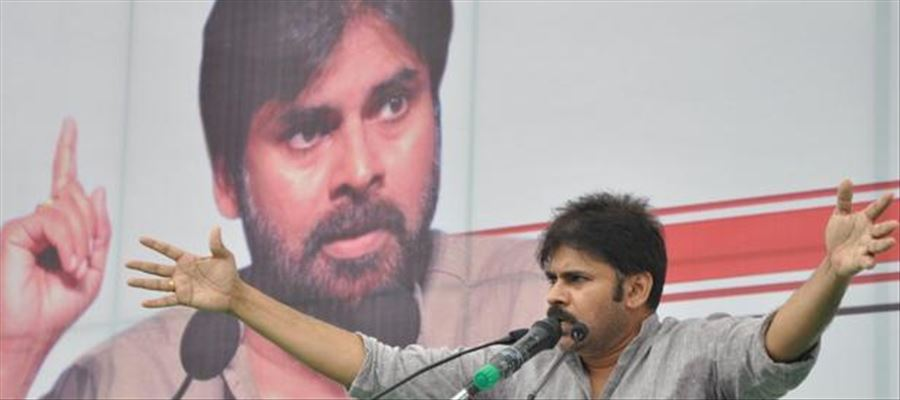 Pawan Kalyan too expresses his strong opinion against the centre in Polavaram project
