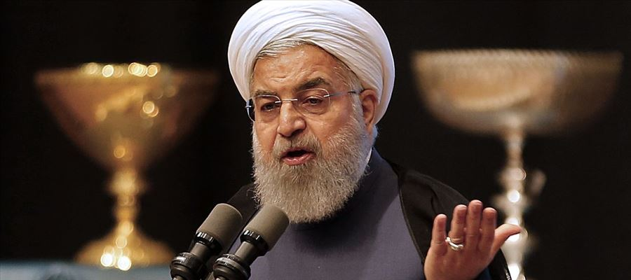 Why President of Iran warned US against pursuing conflict with his country?