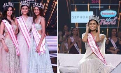 Miss India 2019 Winner is from Rajasthan