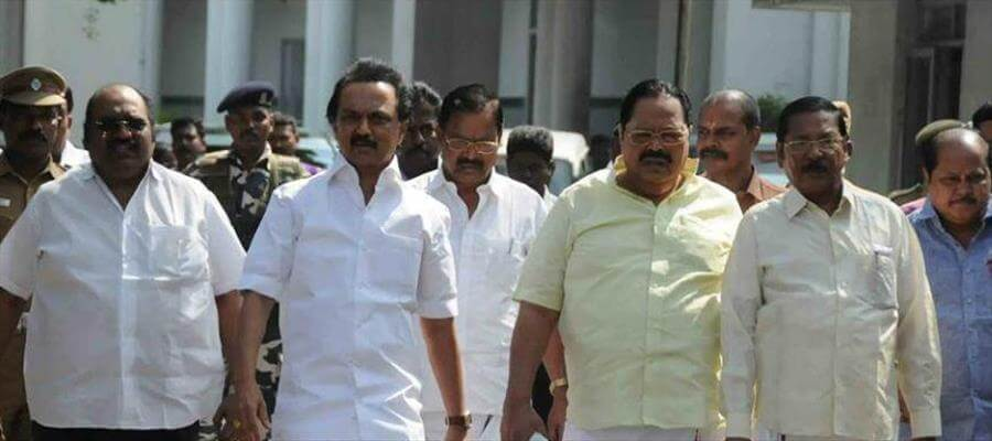 DMK cadre to join hands with public in rehabilitation effort