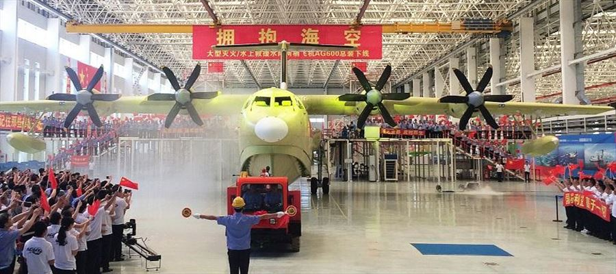 China delivers its domestically developed AG600, world's largest amphibious aircraft by 2022