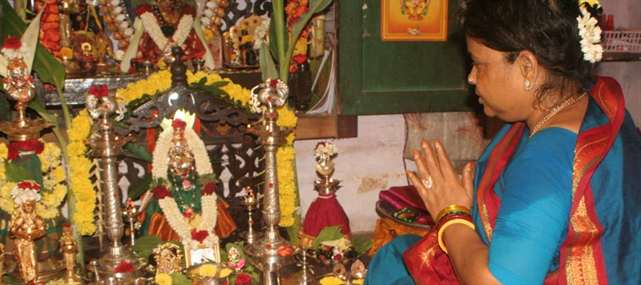 Doing Pooja at home is a must