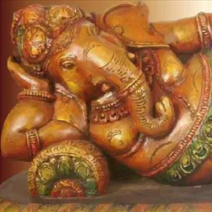 Do you know story about broken tusk of Ganesha?