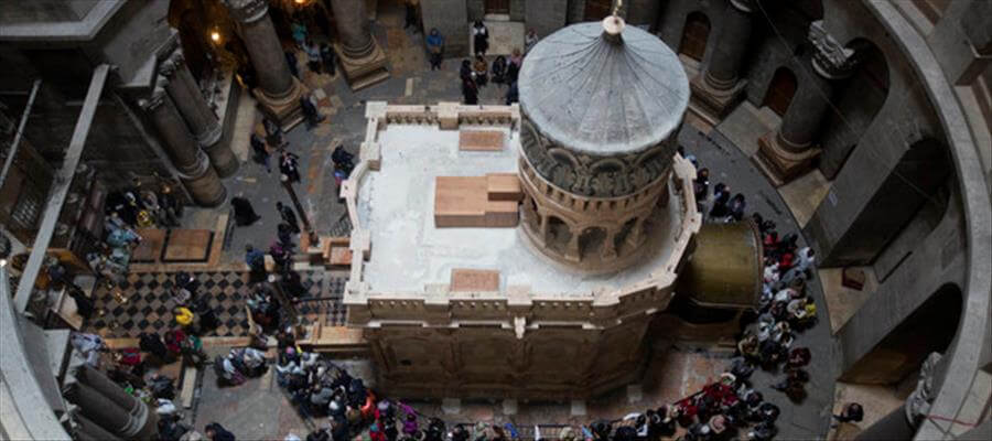 Photo Feature: Renovated Shrine At Jesus's Tomb Unveiled