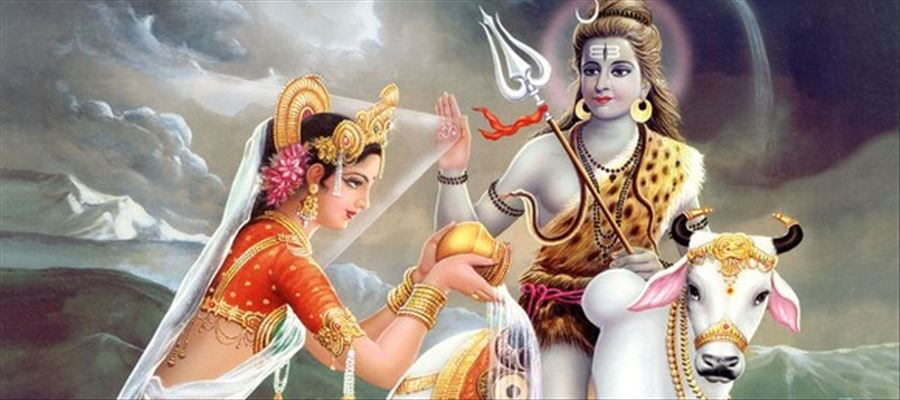 Worshiping Lord Shiva the Lord of Power gives us energy