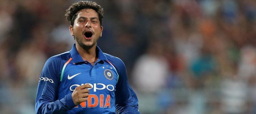 Spinner Kuldeep Yadav with maiden hat-trick as India beat Australia by 50 runs in the second one day international in Kolkata