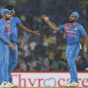 #INDvWI - India clinches victory in Last Ball Thriller in the final T20I