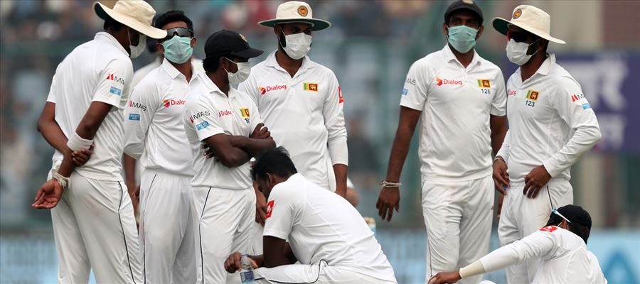 Sri Lanka players used 'Smog' as a bait to stop the play
