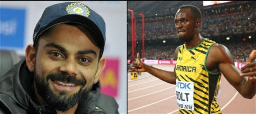 Kohli wants the athlete to play with him!!