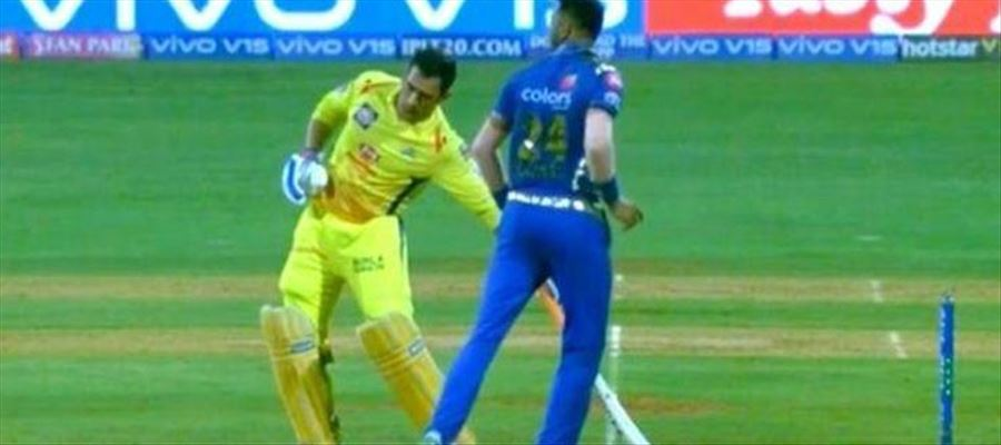 """Why a Mankad """"attempt"""" from Krunal to Dhoni?"""