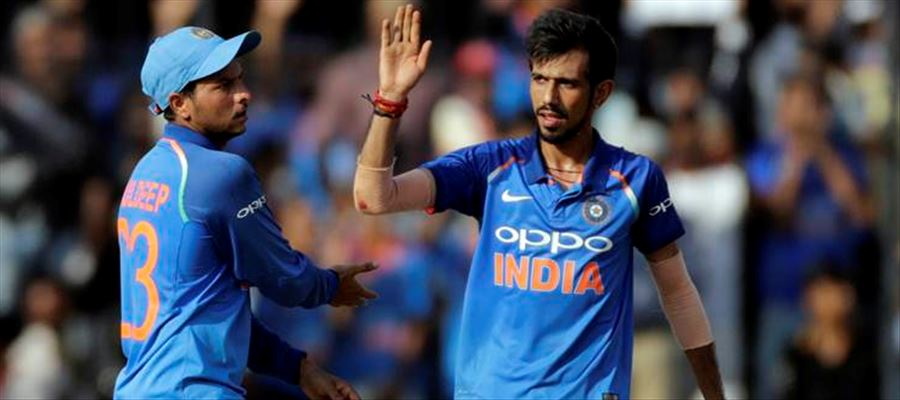 Yuzvendra Chahal dismissed Glenn Maxwell for the fourth consecutive time in the tour