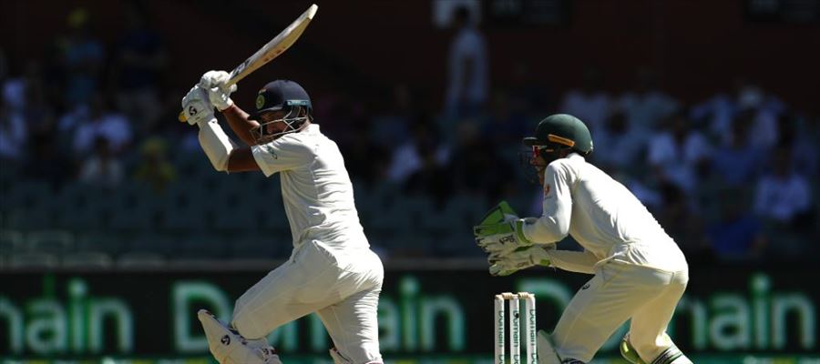 #AUSvIND - Pujara's Century saves India from Embarrassment on Day 1