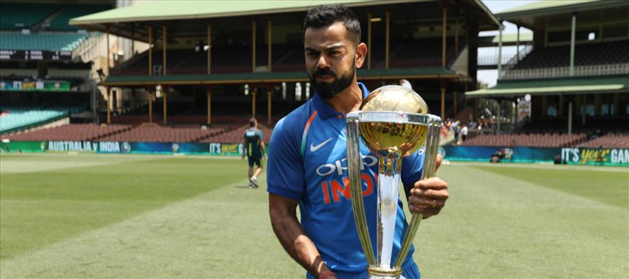 Indian Squad for Cricket World Cup 2019 is Now Announced