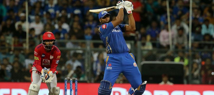 #MIvKXIP - KL Rahul hits Ton in vain as Pollard bludgeons 83 and Mumbai Indians chase the highest target in Wankhede