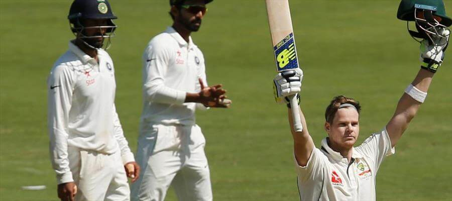 Smith's Ton sets India target of 441