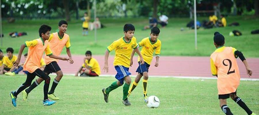After Delhi, Uflex Extends Support to Stairs School Football League - Ahmedabad