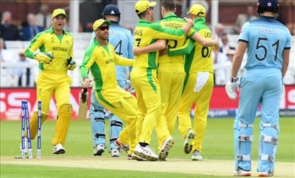ICC Cricket World Cup England Vs Australia Set 2