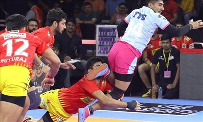 Pro Kabaddi 2019 Pink Panthers Vs Fortune Giants